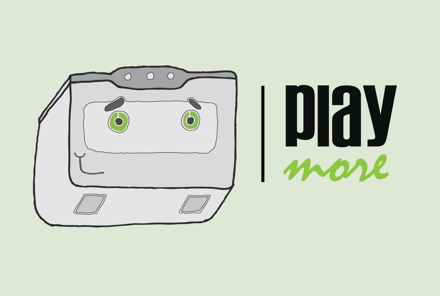 Play More Illustration
