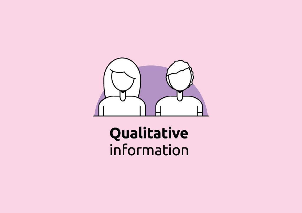 Qualitative information | Face to face