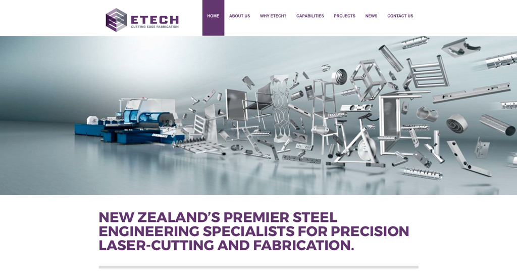 ETECH NZ website